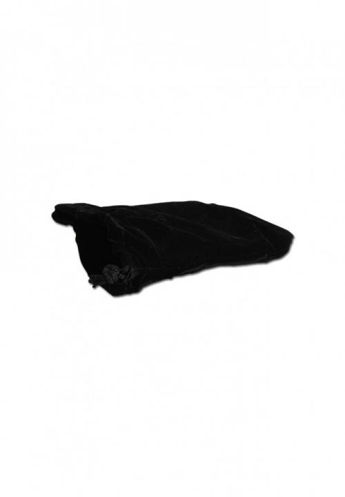 Black Leaf Stainless Steel 4-part Grinder Velvet Bag_Herbeks.si